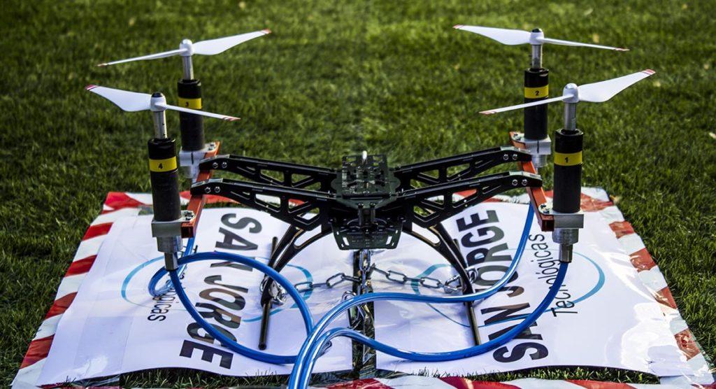 El despegue del proyecto ATEX DRONE